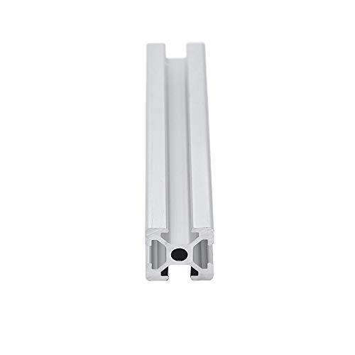 IOUVS 4 unids CNC Aluminio Perfil 2020 Extrusión UE Estándar Estándar Impresora 3D Piezas de Aluminio Lineal anodizado Perfil de Aluminio Precio (Color : 700 mm)