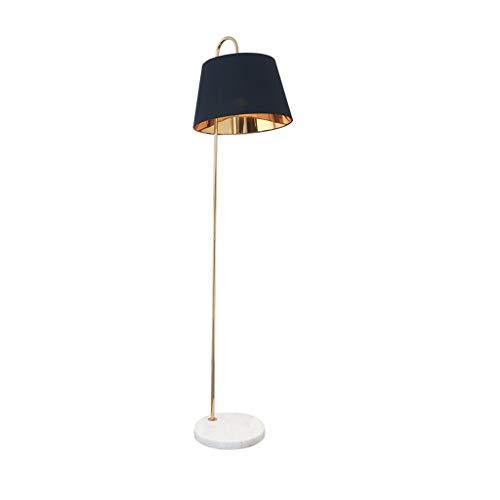 Floor Stand Lights - Lampadaire led moderne de salon, lampe de table de chevet à économie d'énergie, avec socle en marbre - Design Fixture Lighting