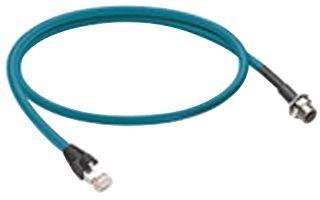 Kabel-Ethernet M12-RJ45, 1 m