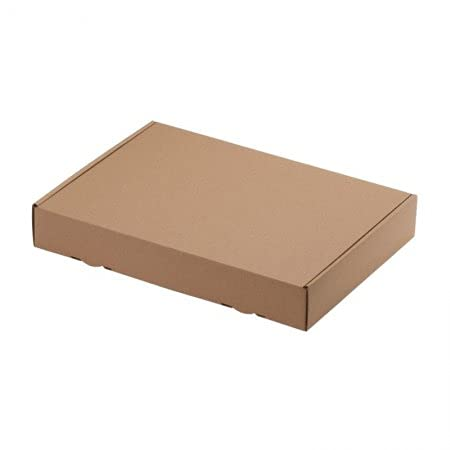 100 CAJAS DE ENVÍO MAXI 319 X 225 x 50mm DIN A4, embalaje ENVÍO Caja de cartón ondulado cartón Caja de cartón de Carta