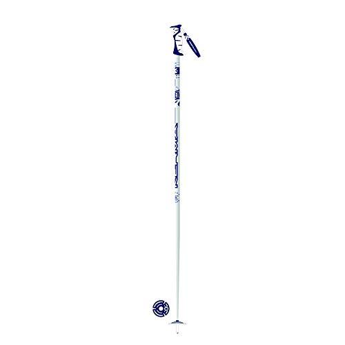 Kerma Legend Pro - Bastón de esquí para Hombre, Color Blanco