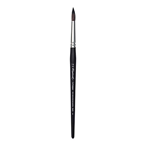 Raphael SoftAqua Synthetic, Watercolor Brush, Series 845, Round, Size 14