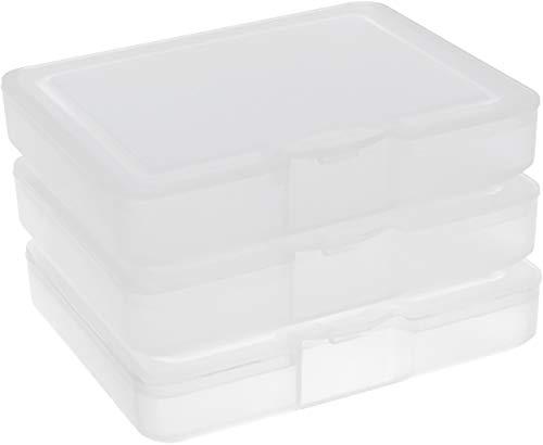 Buchsteiner Klickbox Mini-Pocket 3er-Set (Natur-transparent)
