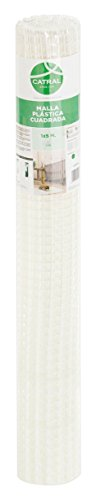 Catral 52010008 Rouleau de Maille carrée Blanc 0,2 x 300 x 100 cm