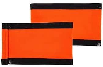 PowerTek Orange Referee Arm Bands (Compatible Force & CCM Jerseys)