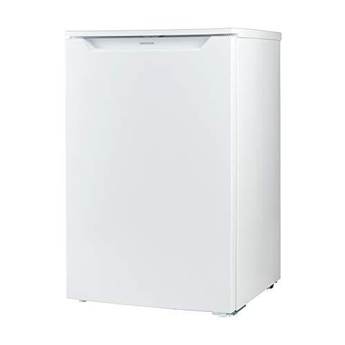 MEDION Gefrierschrank (82 Liter Nutzungsinhalt, Gefrierkapazität 4kg 24 Std, Freistehend, Türanschlag wechselbar, manuelle Temperatureinstellung, 3 transparente Schubladen, weiß, MD37421)