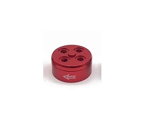 XUSUYUNCHUANG Luce Quick Release Elica Discussione autobloccante Motore Adattatore di Montaggio Adatto for Fibra Drone 12-18 Pollici di Carbonio Elica Accessori Drone (Color : 1 PCS CW Red)