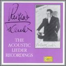 Tauber: The Acoustic Lieder Recordings by Richard Tauber