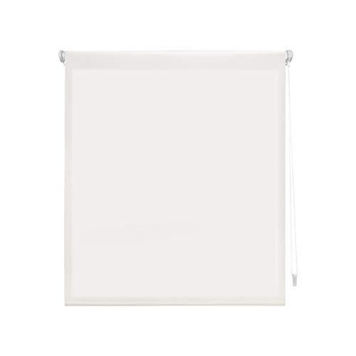 "Blindecor Liso - Aure ""SIN HERRAMIENTAS"". Estor enrollable Traslúcido, blanco roto, 62X180 cm (ancho x alto)"