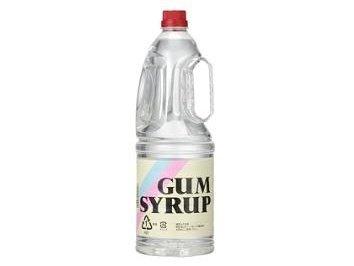 GUM SYRUP【ガムシロップ】 1.8L×8