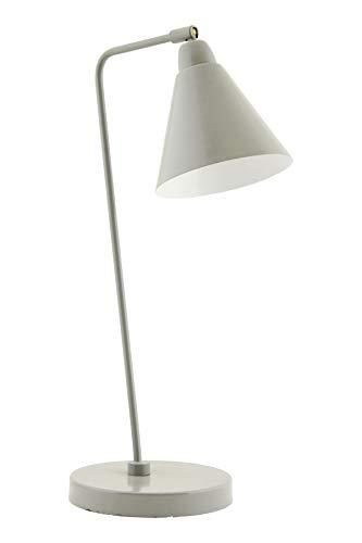 House Doctor Lampe de table Blanc/gris