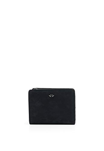 Fritzi aus Preussen Damen Aurelie Geldbörse (9.5x1.5x11.5 cm), Schwarz (Black)