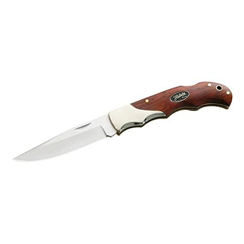 Herbertz Taschenmesser, Stahl 440, Cocobolo, Neusilber, scharfes Klappmesser & Outdoor-messer für Camping, Wandern oder Jagd