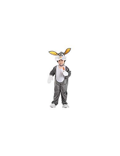 DISBACANAL Disfraz Conejo Bugs Bunny Infantil - -, 8 aos