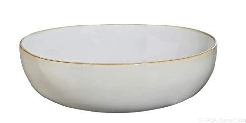 ASA Schale/Salatschüssel, saisons Kollektion, Farbe Sand/Beige, Steinzeug glasiert, Durchmesser 29,5cm, H 9cm, 27273107