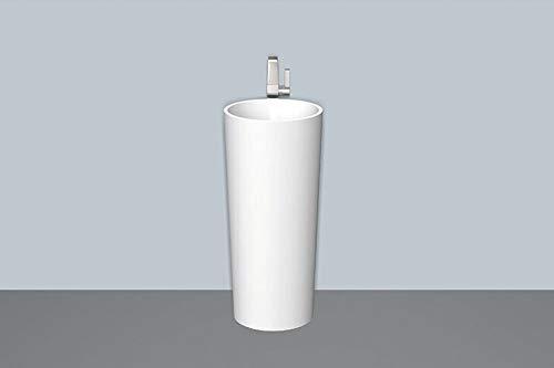 Alape wastafel WT.RX400H.CO, rond, diameter 40.0cm, 4507800000, wit - 4507800000