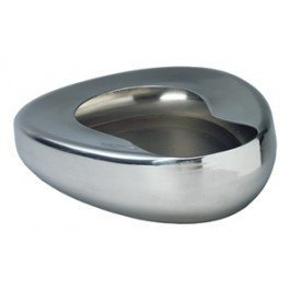 """Grafco 3227 Stainless Steel Bed Pans - Adult: 14"""" x 11 3/8"""""""