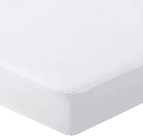 Bedecor Waterproof(Top and around) Mattress Protector Flannel Soft Cotton Noiseless Deep Pocket 30cm - European King(160x190/200cm)