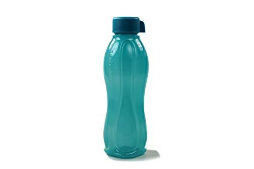 Tupperware to Go Eco 1,0L dunkeltürkis DREHVERSCHLUSS Trinkflasche EcoEasy Ökoflasche 38333