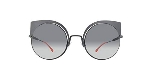 FENDI Sonnenbrille FF0177S-003-53 Gafas de sol, Negro (Schwarz), 57 para Mujer