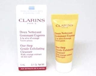 CLARINS One Step Gentle Exfoliating Cleanser with Orange Extract, 0.1 oz / 5 ml, Sample Travel Size