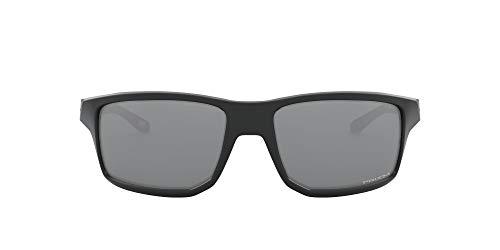 Oakley OO9449 Gibston - anteojos de sol cuadradas para hombre, no polarizadas, color negro mate, 60 mm