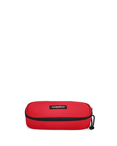 Eastpak Oval Single Astuccio, 22 cm, Rosso (Risky Red)