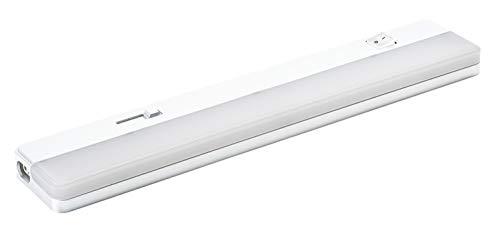 StarLicht 7W LED verzonken lamp (35W licht) KORFU-DIM 35 wit 350lm 3000K warm wit - 35cm met schakelaar voor aan- uit en dimmen