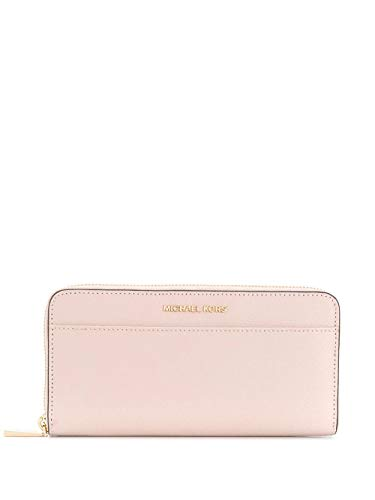 Luxury Fashion | Michael Kors Dames 34F9GTVZ3L187 Roze Leer Portemonnees | Lente-zomer 20