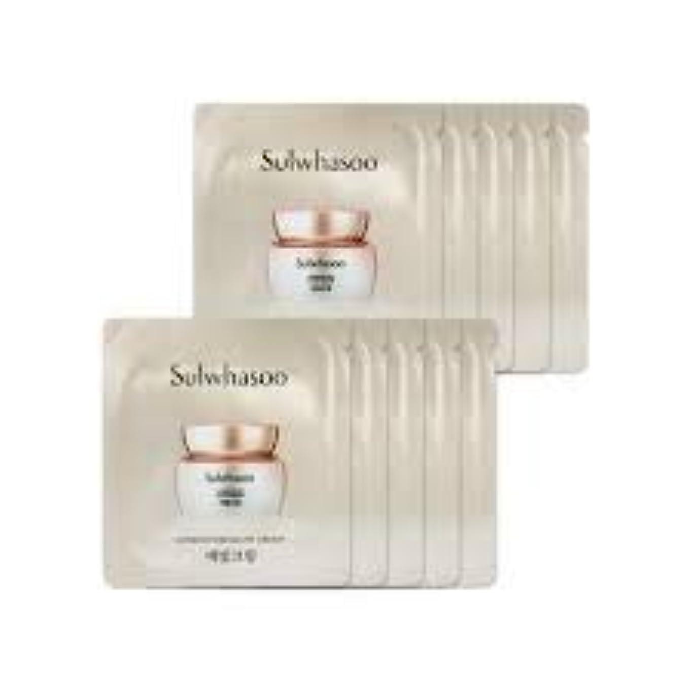 作成するお祝い外交[ソルファス ] Sulwhasoo (雪花秀) ルミナチュアグロー Luminature Glow Cream 1ml x 30 (イェビトクリーム) [ShopMaster1]