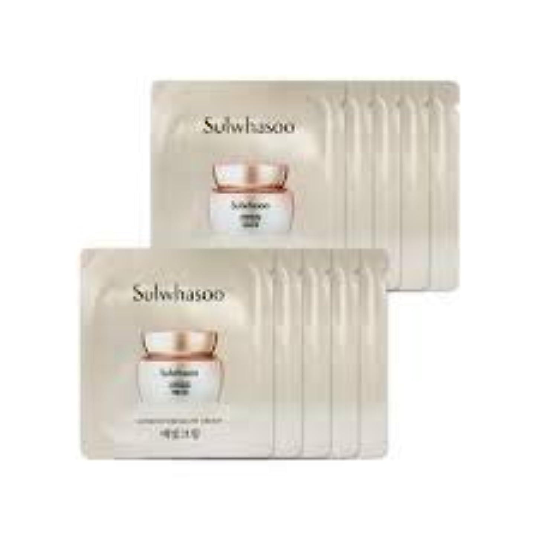 ウェイトレス実現可能性口径[ソルファス ] Sulwhasoo (雪花秀) ルミナチュアグロー Luminature Glow Cream 1ml x 30 (イェビトクリーム) [ShopMaster1]