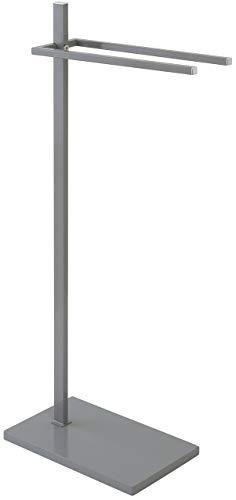 Feridras 154036 - Toallero de pie, gris, 20 x 35 x 86 cm