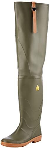 Nora River, Stivali di Gomma Unisex-Adulto, Verde, 43 44