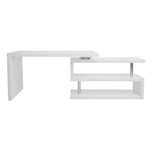 Miliboo - Scrivania design laccata bianca MAX