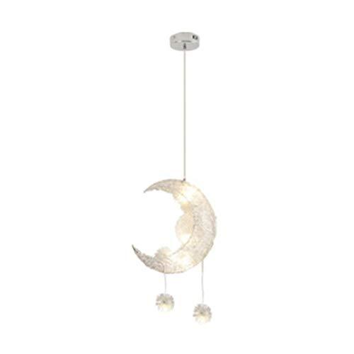 Romantic Moon Star kroonluchter voor kinderen kroonluchter LED Star Sky verstelbare kroonluchter Sale-110V_Warm_White