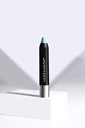 Fran Wilson MOODmatcher Twist Stick Original Color-Change Lipstick, LIGHT BLUE- Maskproof, 12 HOUR Long Wear, Waterproof, Ultra Hydrating and Moisturizing with Aloe & Vitamin E, 0.10 Oz (2.9g)