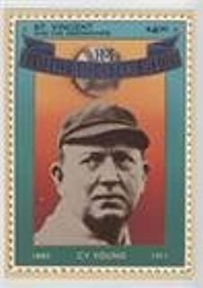 Cy Young (Baseball Card) 1992 St. Vincent and the Grenadines Baseball Hall of Fame Heroes Stamp Cards - Box Set [Base] #12
