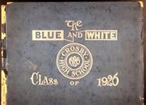 (Custom Reprint) Yearbook: 1926 Crosby High School - Blue and White Yearbook (Waterbury, CT)