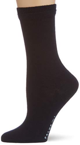 FALKE Damen No. 4 W SO Socken, Blau (Dark Navy 6379), 37-38