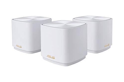 Asus - zenwifi ax dual-band mesh wi-fi system (3-pack) - white 1
