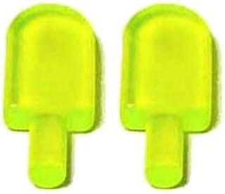 LEGOブロック・純正パーツ<フード&ドリンク>アイスキャンディー (2個, Trans-Neon Green) [並行輸入品]