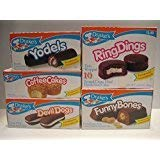 Drakes Yodels And Ring Dings Snack Cakes