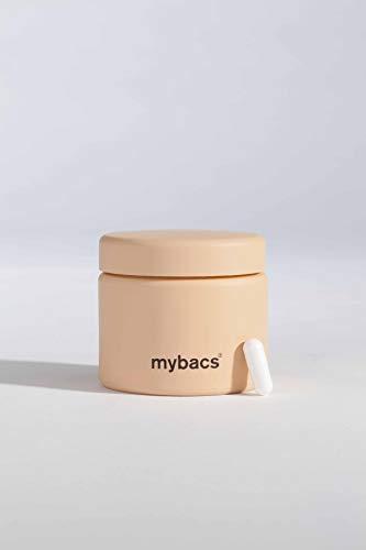 Mybacs Dailybacs Synbiotikum Kapseln speziell für Frauen - Hochdosierte Probiotika Kulturen (60 Mrd. KBEs) und Präbiotika zur Darmsanierung und Aufbau einer gesunden Darmflora - 3 Monatspackung