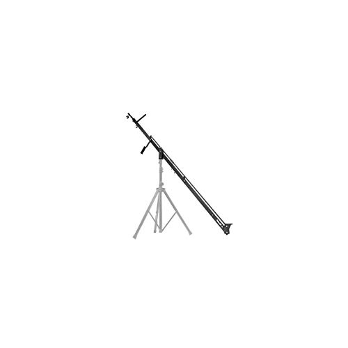 ProAm USA DVC210 Orion DSLR Video Camera Jib Crane Tilt - Aircraft Aluminum Camera Crane with Top-Mounting Bracket - Extendable Filmmaking Camera Stand with Auto-Tilt - 8 ft