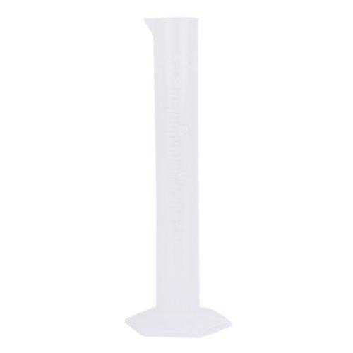 #N/a Recipiente de Cilindro de Taza de Vaso Volumétrico Graduado Plástico de Laboratorio de Cocina - 3