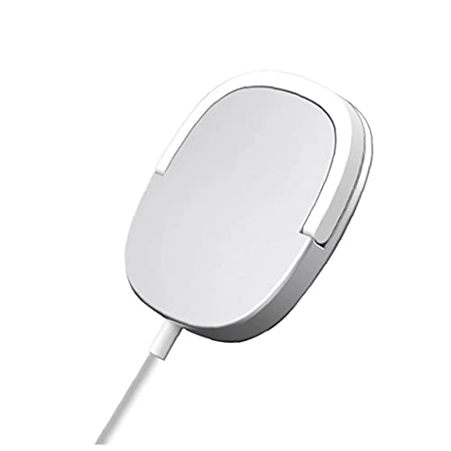 Tuimiyisou Cargador inalámbrico 15W Anillo magnético del Soporte de Carga rápida de Plata Cargador Compatible con el iPhone 12