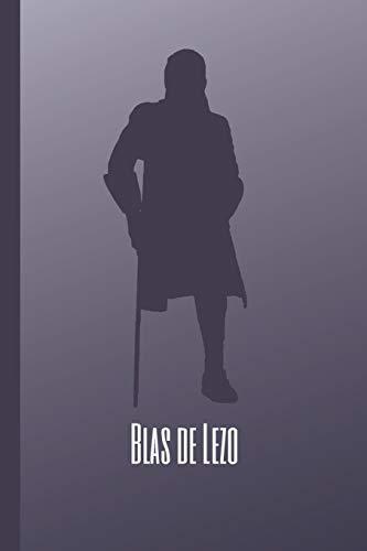 """BLAS DE LEZO: CUADERNO 6"""" X 9"""". 120 Pgs. DIARIO, CUADERNO DE NOTAS O AGENDA."""
