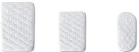 Pirulos 41400001 - Protector colchón, algodón, 70 x 140 cm, color blanco