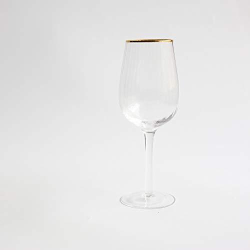 Rayas Phnom Penh Glass Transparente Champán Copa De Vino Tinto Copa De Cristal 2pcs 450ml 250-450ml SHY121