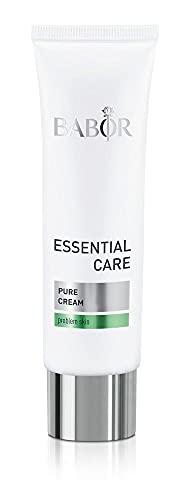 BABOR ESSENTIAL CARE Pure Cream, Leichte Anti-Pickel Gesichtscreme für unreine Haut, Mit natürlichen Wirkstoffen, Vegane Formel, 1 x 50 ml